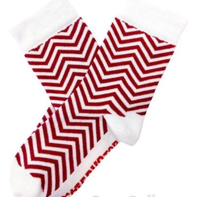 Консерва-носок «New Year socks» красные