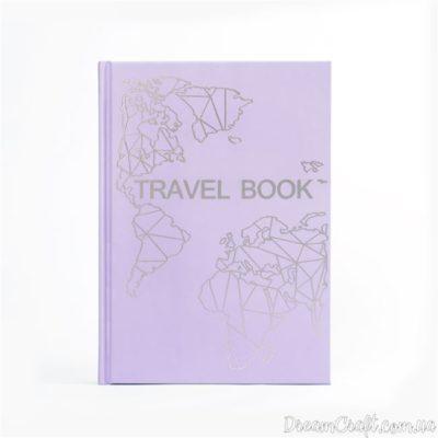 Блокнот-планер TravelBook Lavender для путешествий