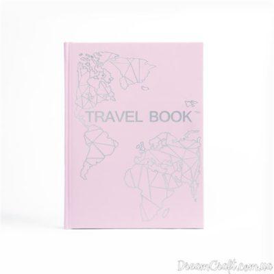 Блокнот-планер TravelBook Pink для путешествий