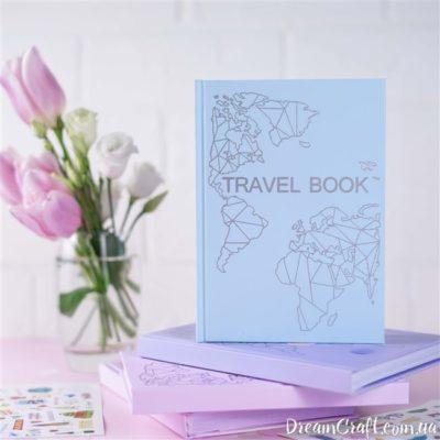 Блокнот-планер TravelBook Blue для путешествий