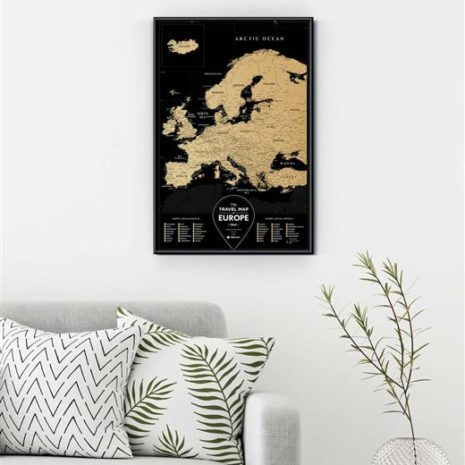 travel map europe 0005