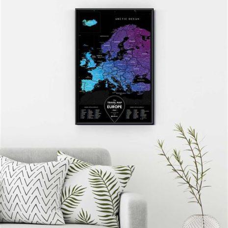 travel map europe 0007