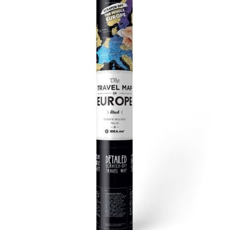 travel map europe 0012