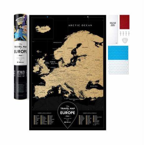 travel map europe 0014