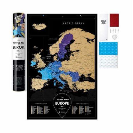 travel map europe 0015