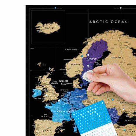 travel map europe 0017