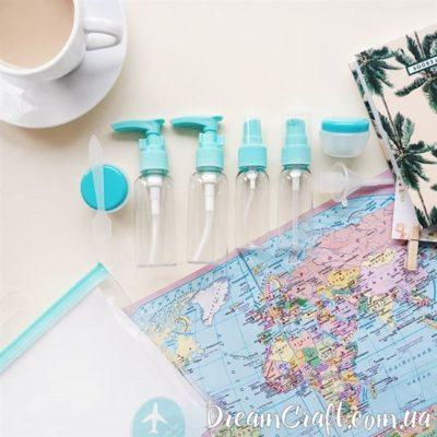 Набор флаконов для путешествий «ESSE» Mint