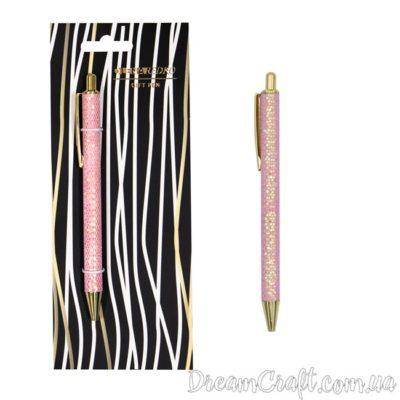 Ручка-автомат с блестками » Pink sequins»