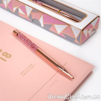 РУЧКА С ГЛИТТЕРОМ CHICARDI, ROSE GOLD