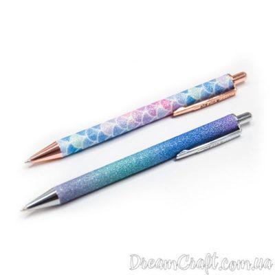 Набір кулькових ручок з блискітками «Mermaid»