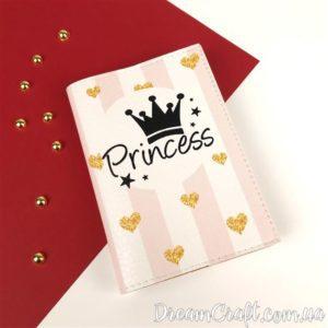 Обложка на паспорт Princess DC-009