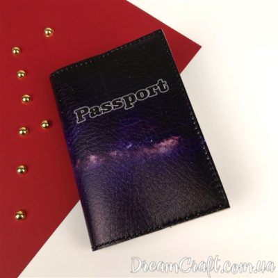 Обложка на паспорт Space DC-004