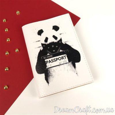Обложка на паспорт Panda DC-017