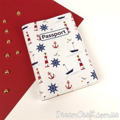 Обложка на паспорт «Sea» DC-063