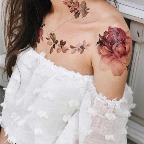 Временные тату татуировки Arley Sign 08003