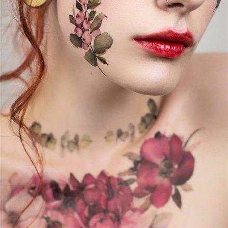 Временные тату татуировки Arley Sign 08008