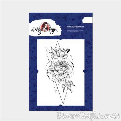 Тату A.Sign 5002 Троянди у геометрії А5