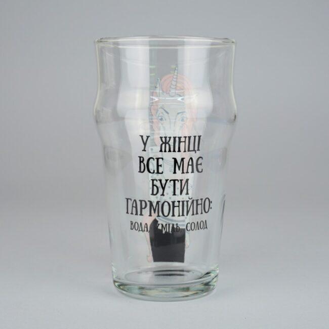 Пивной Бокал BeerMe Единорог 0,5