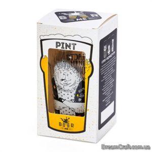Пивной Бокал BeerMe Дикобраз 0,5