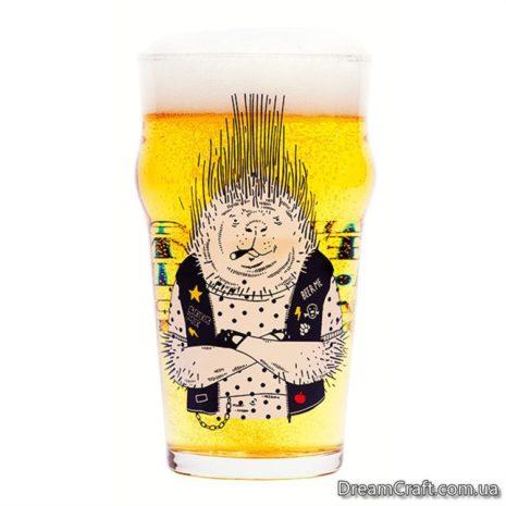Бокал для пива подарок beerme 00759