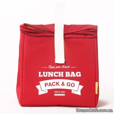 Термо-сумка L червоний  (LB201)