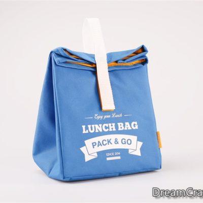 Термо-сумка L блакитний (LB205)