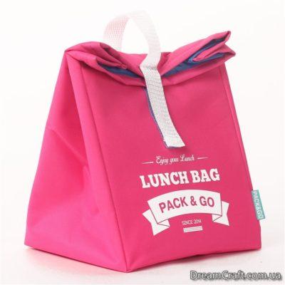Термо-сумка L рожевий (LB207)