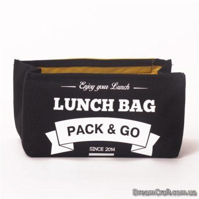 Термо-сумка S чорний (LB408)