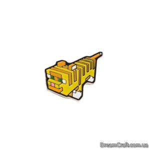 Значок Pin&Joy Кот LEGO Оцелот