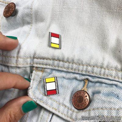 Значок Pin&Joy Кинопленка — 3 цвета