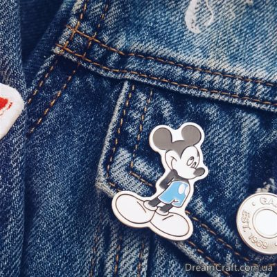 Значок Pin&Joy Mickey Mouse