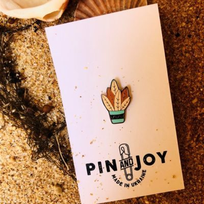 Значок Pin&Joy Вазон с растением
