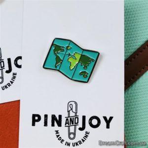 Значок Pin&Joy Карта пушетественника
