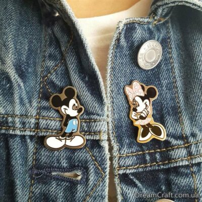 Значок Pin&Joy Mini Mouse