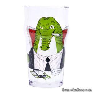 Пивной Бокал BeerMe Крокодил 0,5