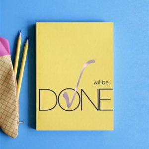 Блокнот «Wiil be Done»