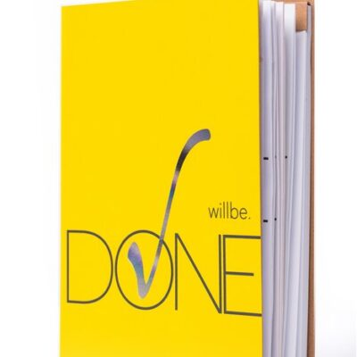 Блокнот «Wiil be Done»