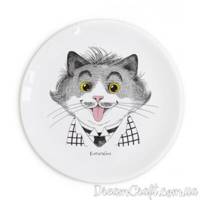 Plate «Einstein»/Тарілка «Ейнштейн»