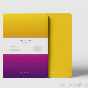 Зошит Daily Notes Gradient
