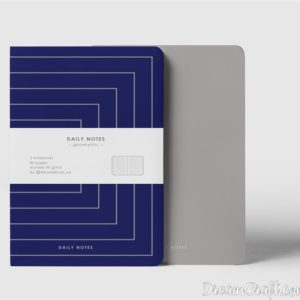 Зошит Daily Notes Grey