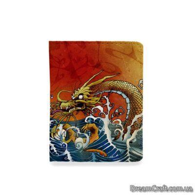 Обложка на документы — Китайский дракон