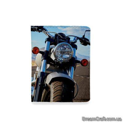 Обложка на документы — Мотоцикл