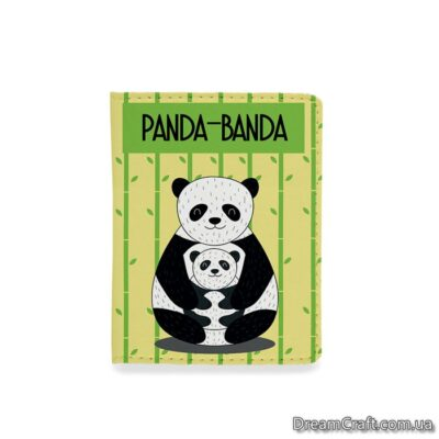 Обложка на документы — Панда