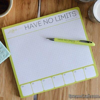 Блокнот «Have no limits»