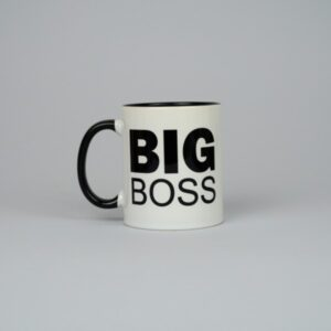 Чашка белая Big Boss 330 мл