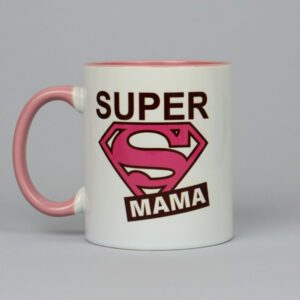 Чашка белая Super MAMA 330 мл
