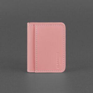 Кожаная обложка для ID-паспорта и водительских прав 4.0 розовый