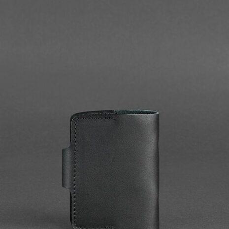 Кожаный кард-кейс 7.1 (Книжечка) черный