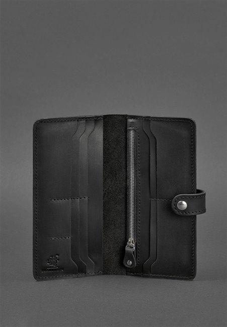 Портмоне кожаный 7.0 Черный