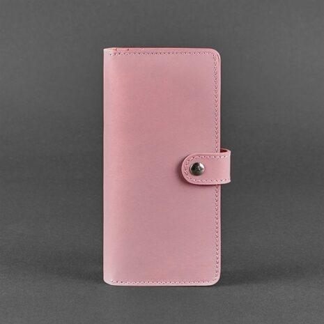 Портмоне кожаный 7.0 Розовый